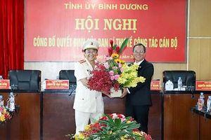 Ban Bí thư chuẩn y Giám đốc Công an tỉnh Bình Dương làm Phó Bí thư Tỉnh ủy