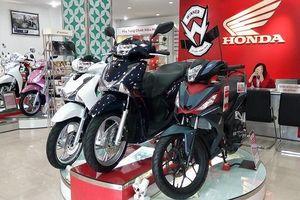 Bảng giá xe máy Honda 2019 mới nhất tháng 4