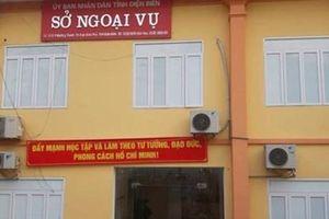 Kỷ luật khiển trách đối với 2 lãnh đạo Sở Ngoại vụ tỉnh Điện Biên