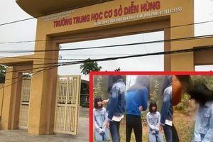 Tiết lộ nguyên nhân nữ sinh bị nhóm bạn tát, bắt quỳ xin lỗi ở Nghệ An