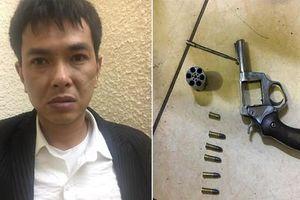 Bất ngờ lời khai đối tượng cầm súng, cướp tài sản ở chợ Long Biên