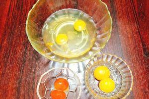 Làm trứng hấp tam sắc không chỉ hấp dẫn mà cực kỳ tốt cho sức khỏe