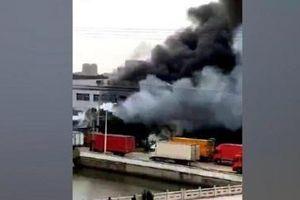 7 người chết trong vụ nổ container chấn động ở Trung Quốc