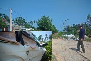 Tàu hỏa tông ô tô văng xa gần 10m, 3 người nhập viện cấp cứu