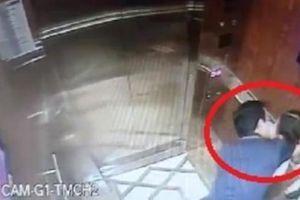 Vụ sàm sỡ bé gái trong thang máy: Đã xác định được người đàn ông