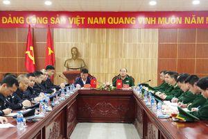 BĐBP Lạng Sơn bàn giao tang vật liên quan đến tội phạm công nghệ cao cho Biên phòng Quảng Tây