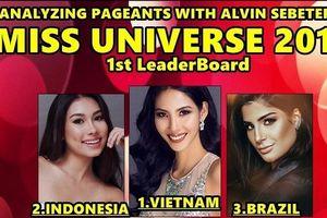 Sao Việt 2/4: Hoàng Thùy sẽ đăng quang Hoa hậu Hoàn vũ Thế giới 2019?