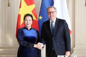 Hoạt động của Chủ tịch Quốc hội Nguyễn Thị Kim Ngân tại Pháp