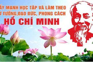 Triển lãm ảnh 'Học tập và làm theo tư tưởng, đạo đức, phong cách Hồ Chí Minh'