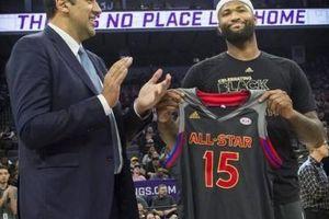 DeMarcus Cousins từng rất phẫn nộ vì những thay đổi tại NBA All-Star 2012