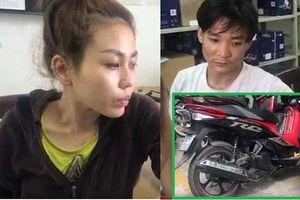 TP.HCM: Bắt đôi nam nữ kê dao vào cổ tài xế xe ôm công nghệ để cướp xe máy