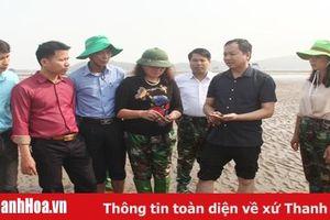 Tiếp tục lấy mẫu, xác định nguyên nhân xảy ra tình trạng ngao chết ở huyện Hậu Lộc