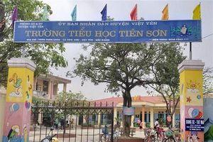 Bắc Giang: Điều chuyển thầy giáo bị tố dâm ô học sinh làm nhân viên hành chính