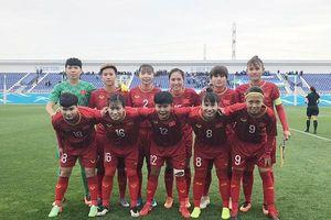 Thắng chủ nhà Uzbekistan, tuyển nữ Việt Nam rộng cửa tranh vé Olympic 2020