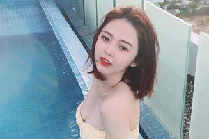 Bạn gái tin đồn xinh đẹp, nghiện khoe eo thon của Trịnh Thăng Bình