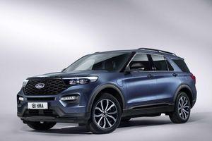 Ford Explorer sắp tấn công thị trường châu Âu lần đầu tiên