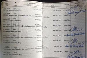Thông tin mới vụ nghi mất tiền tỉ tiết kiệm ngân hàng tại Khánh Hòa