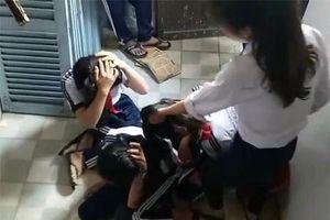Muôn kiểu bạo lực học đường: Cắt tóc, xé áo và đánh đập dã man