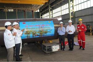 Phát động thi đua hoàn thành hạng mục 'Cuốn ống Công trình giàn BK-20 mỏ Bạch Hổ'