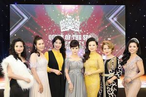 Nữ hoàng hoa hồng Bùi Thanh Hương lộng lẫy tại họp báo Queen of The Spa