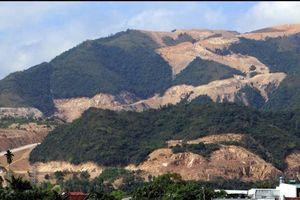 Cạo trọc núi Chín Khúc, Nha Trang làm dự án