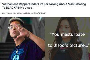 Truyền thông Hàn Quốc lên tiếng về việc nam rapper Việt chửi tục, bôi nhọ nữ idol Hàn