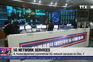 Hàn Quốc tiên phong trong việc triển khai mạng 5G