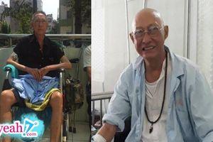 Nghệ sĩ Lê Bình đang yếu dần, bị liệt nửa người và hai chân sưng phù, ung thư có nguy cơ di căn