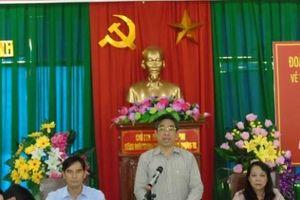 Đoàn kiểm tra Ban Chỉ đạo Trung ương làm việc với Huyện ủy Bắc Bình (Bình Thuận) về công tác dân tộc