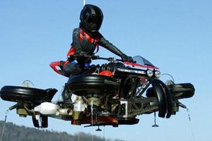 Chi tiết siêu môtô bay Lazareth La Moto Volante giá 13 tỷ
