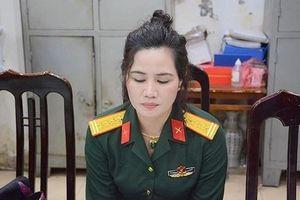 Nữ nhân viên công ty luật giả danh đại tá quân đội: Bộ Quốc phòng thông tin