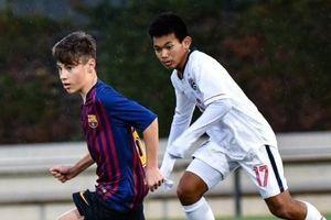 U15 Thái Lan thua đậm 0-9 trước lứa đàn em của Messi