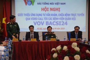 VOV ra mắt ứng dụng video call để tư vấn khám bệnh