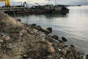 Tìm phương án sử dụng chất nạo vét cảng Dung Quất