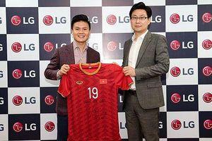 Quang Hải tiếp tục là Đại sứ thương hiệu LG Việt Nam