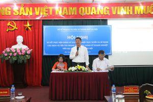 Hà Nội: 100% hồ sơ đăng ký doanh nghiệp nộp trực tuyến