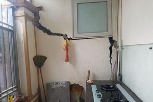 Tranh cãi về nguyên nhân lún, nứt nhà ở khu đô thị Văn Phú