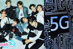 Nhóm nhạc EXO là những người đầu tiên trên thế giới sử dụng điện thoại mạng 5G