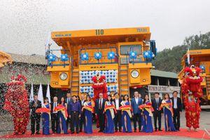 Đưa xe tải BELAZ 75131 tải trọng 130 tấn vào hoạt động tại mỏ than Hà Tu