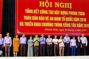 Nhiều chuyển biến trong phong trào toàn dân bảo vệ ANTQ ở Khánh Hòa