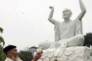 Điều tra vụ 16 pho tượng La hán tại chùa Khánh Long bị đập phá