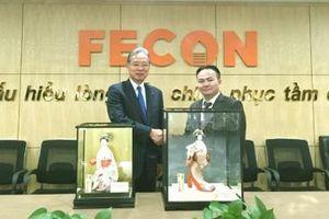 FECON bắt tay hợp tác chiến lược toàn diện với Tập đoàn Raito Kogyo (Nhật Bản)
