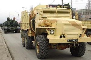 Không ngờ: Nga chế tạo xe thiết giáp 'học' phiến quân Syria
