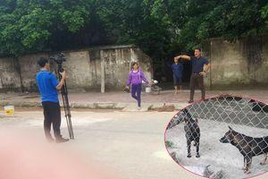 Chủ đàn chó dữ cắn chết bé trai 7 tuổi đe dọa phóng viên tác nghiệp