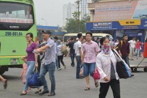 Hà Nội bố trí 550 lượt xe tăng cường dịp nghỉ lễ 30/4