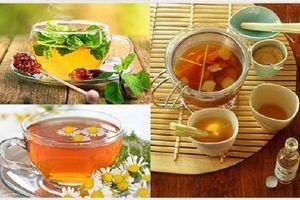 Cách dùng trà dược thanh nhiệt, trị mất ngủ