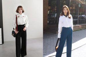 6 cách phối đồ cực sành điệu và thời trang chỉ với một chiếc áo sơ mi trắng