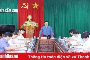 Quan tâm xây dựng TP Sầm Sơn trở thành đô thị du lịch biển trọng điểm của quốc gia