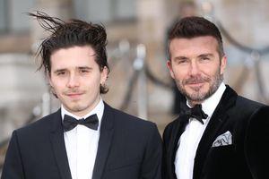 David Beckham và con trai 'đốn tim' phái đẹp với vẻ ngoài lịch lãm