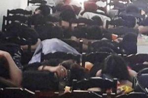 Trinh sát ập vào quán karaoke, bắt quả tang gần trăm thanh niên phê ma túy